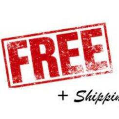 Free Pus Shipping and handling